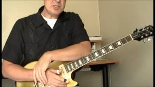 the guitar of jimmy rogers lesson 3 playing over the chords part 2 a7 b7