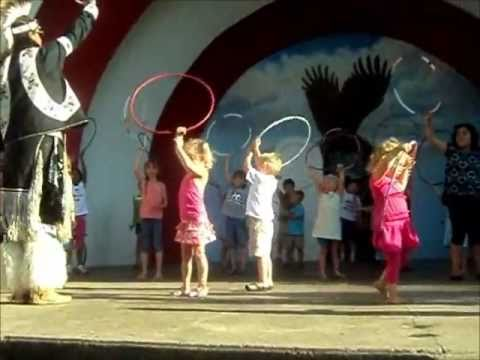 Video for kids to learn native american dance