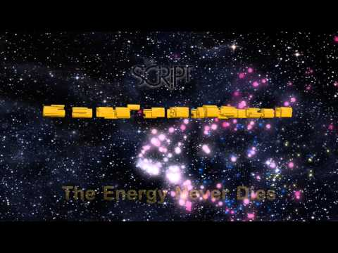 The Script: The Energy Never Dies snippet  (lyric video)