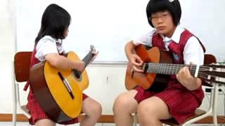 Ekstra Kurikuler Guitar Club SD K PNK 2012 #3 (Tasya dan Karen).flv