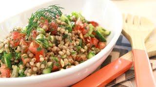 Dill Buckwheat Kernel Salad :: Gluten-free