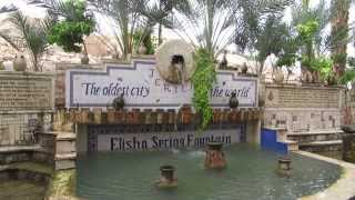 Elisha spring, Jericho, the oldest city in the world (the Palestinian Authority)