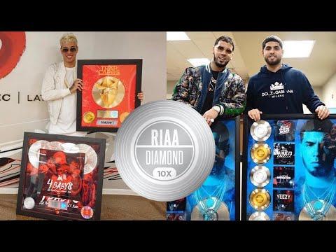 Asi se ganan las placas de la RIAA (Oro, Platino y Diamante)