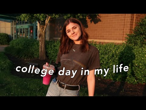 COLLEGE DAY IN MY LIFE | UTK
