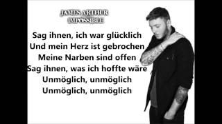 James Arthur- Impossible deutsche Übersetzung