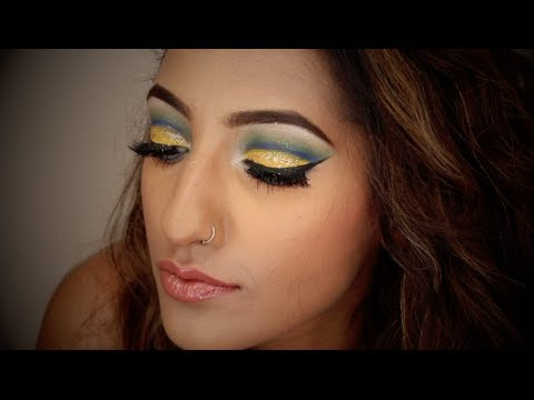 WORLD CUP/BRAZIL/ENGLAND INSPIRED MAKEUP TUTORIAL ...