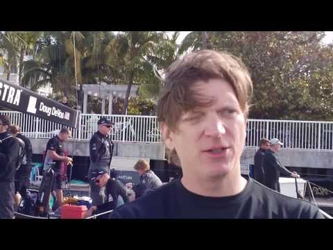 Interview with Niklas Zennström, owner TP52 Ran, at Quantum Key West 2014