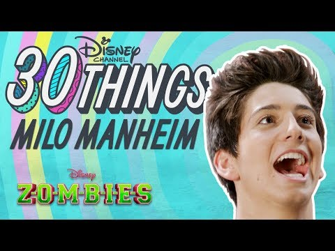 30 Things About Milo  ZOMBIES  Disney Channel