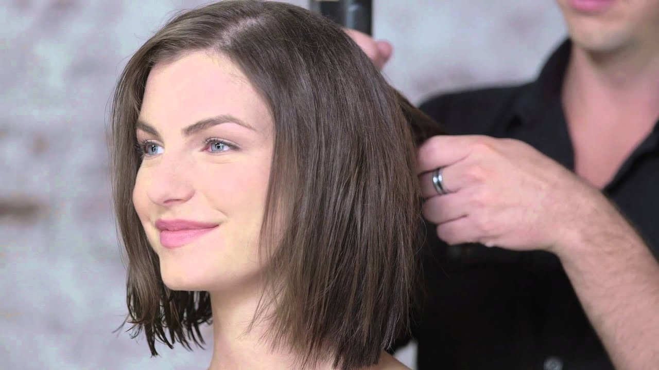 Texturized Hair Styles: Textured Bob Hair Tutorial