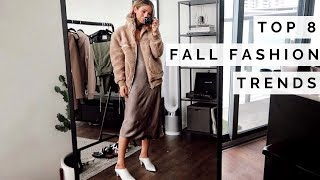 ARITZIA FALL HAUL | OUTFIT IDEAS  + FALL FASHION TRENDS 2018 + GIVEAWAY