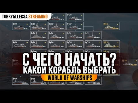 ✔️ КАКУЮ ВЕТКУ КОРАБЛЕЙ КАЧАТЬ? ⚓ С ЧЕГО НАЧАТЬ В WORLD OF WARSHIPS