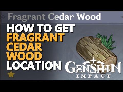 Fragrant Cedar Wood Genshin Impact Location
