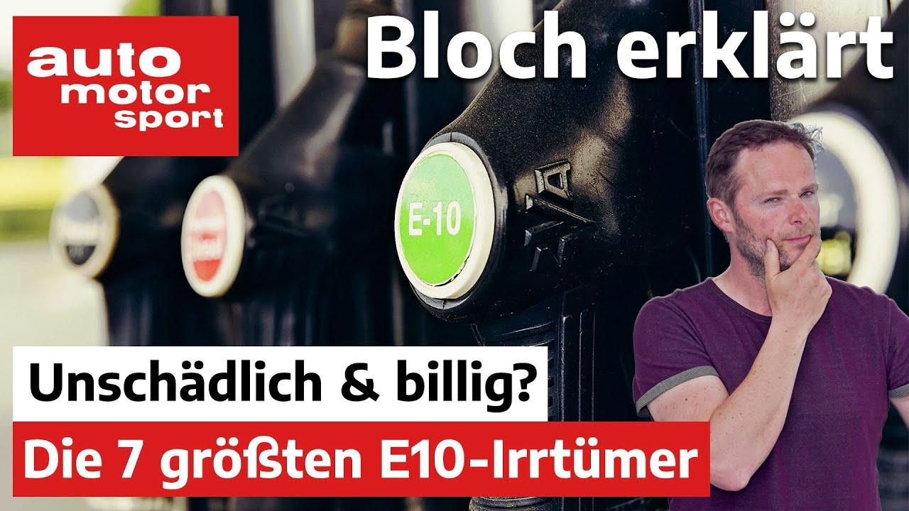 Download Bilanz nach 10 Jahren Bio-Sprit: Die 7 größten E10-Irrtümer - Bloch erklärt #132 |auto motor & sport