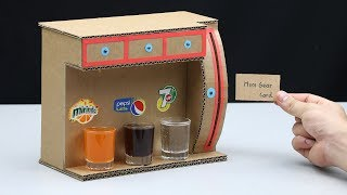 How to make Soda Fountain Dispenser with 3 Different Drinks