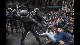 Catalan Referendum Spanish Police Violence And Brutality!