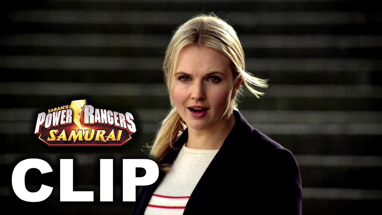 Download Power Rangers Samurai - Lauren/Female Red Ranger First Scene ('Fight Fire With Fire' Episode)
