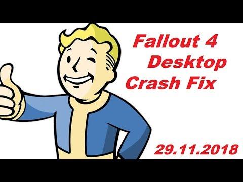 Fallout 4 crash to desktop fix 29.11.2018