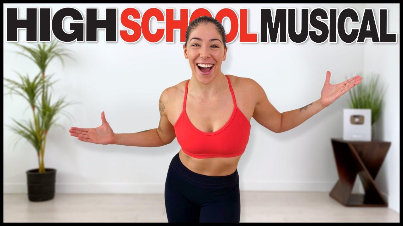 HIGH SCHOOL MUSICAL DANCE WORKOUT (PART 2)   Cardio Workout to Songs From High School Musical
