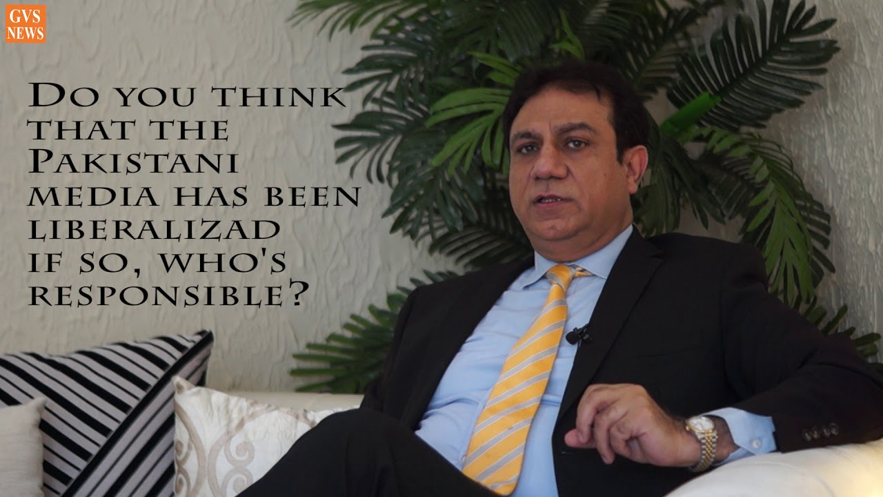 Explaining Pakistan's media: GVS exclusive interview with Yousaf Baig Mirza