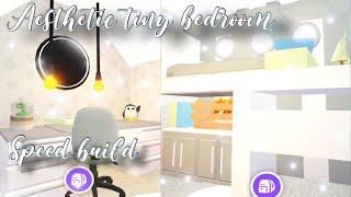 aesthetic roblox adopt bedroom build speed tiny