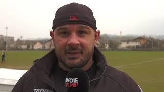 SOC Rugby / Bourgoin : commentaires d'avant match lors de l'entrainement