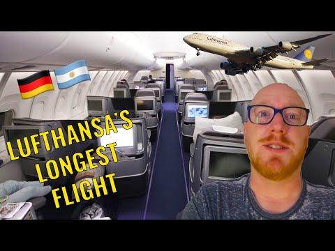 Lufthansa Longest Flight 🇩🇪: Boeing 747-8 Business Class: Frankfurt To Buenos Aires