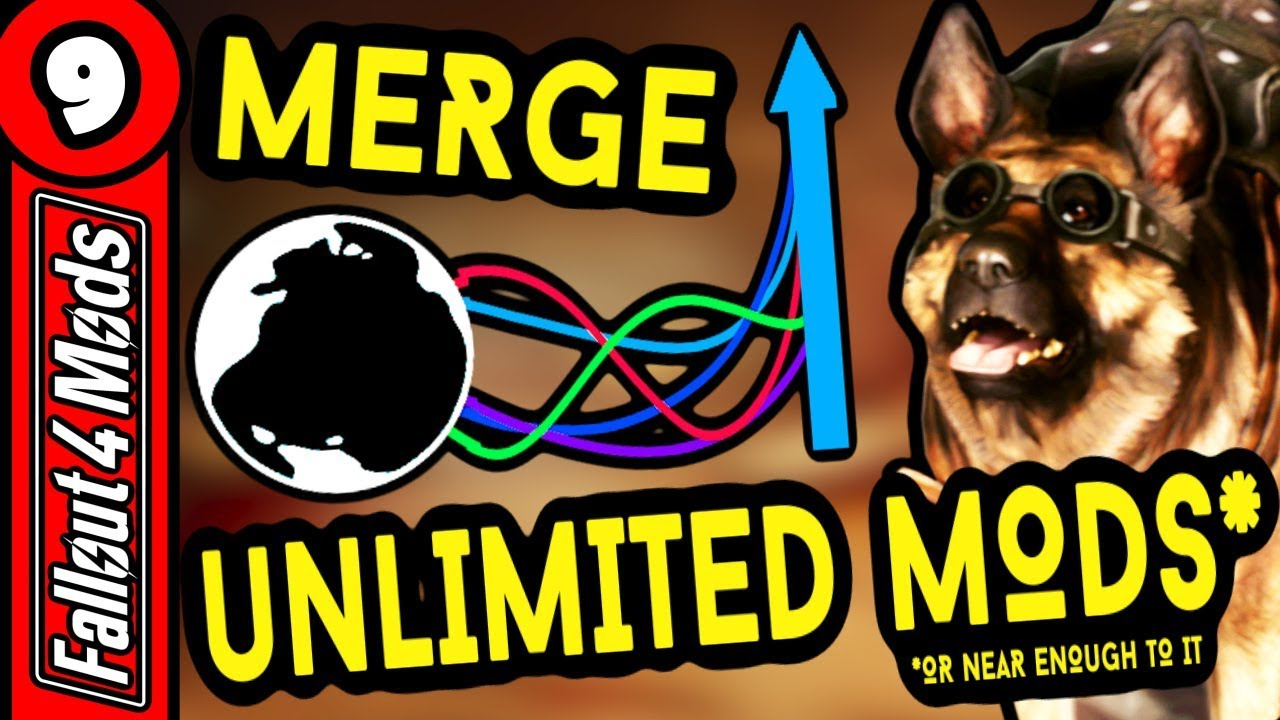 How to MERGE MODS in Fallout 4 & Skyrim - Merge Plugins Guide - Fallout 4  Best Mods - Part 9