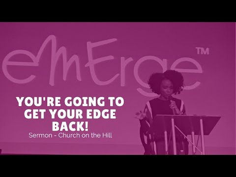 You're Going to Get Your Edge Back | Rachel L. Proctor