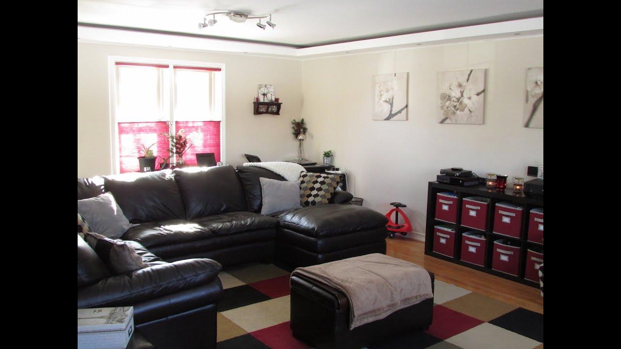 Living Room Organization Black Cabinets Walk Through Including Tips For Hidden Toys
