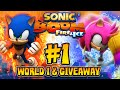 Sonic Boom Fire & Ice (3DS) - (1080p) Part 1 - World 1 COMPLETE Kodiak Frontier & GIVEAWAY