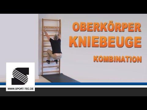 NOHrD Sprossenwand Übung 20/24 Oberkörper Kniebeuge Kombination