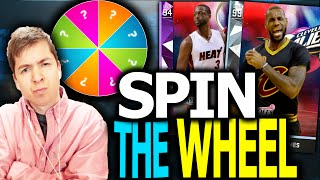 SPIN THE WHEEL OF PLAYOFF MOMENTS! NBA 2K16 SQUAD BUILDER!