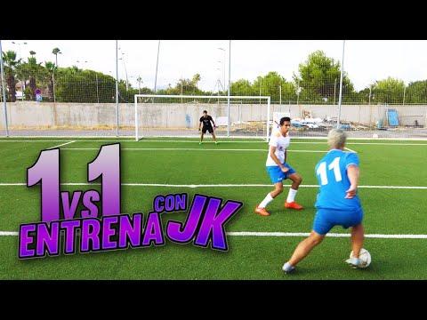 1 VS 1!!//ENTRENA CON JK