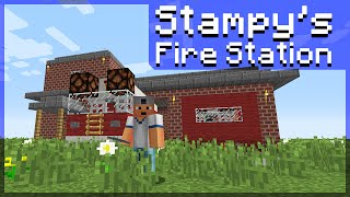 How Build Stampys Fire Station