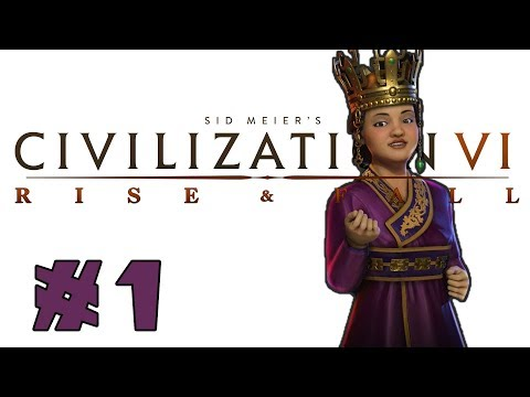 Civilization VI: Rise and Fall! -- KOREA -- Part 1