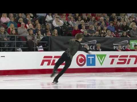 Roman Sadovsky 2017 Canadian National Figure Skating Championships - SP