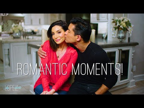 Courtney and Mario Lopez Share Romantic Moments  Valentine's Day