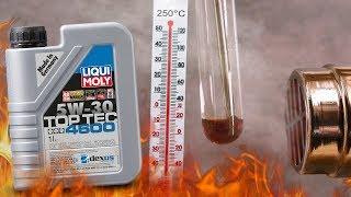 Liqui Moly top tec 4600 5W30 Jak czysty jest olej silnikowy? 3x 250°C
