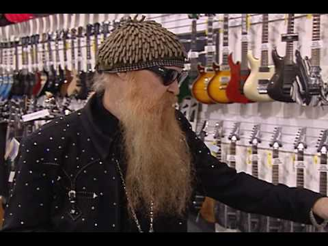 Billy Gibbons & Criss Angel Visit Ed Roman Guitars in Las Vegas