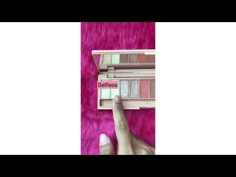 SOFWANAH : TIMELESS EYESHADOW PALLETE CODE ALLURE AND DEMURE