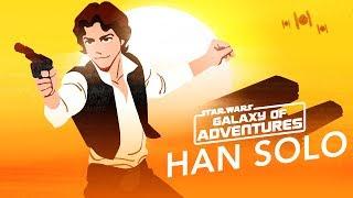 Star Wars Kids - Galaxy of Adventures | Han Solo – Kaptajnen på Tusindårsfalken