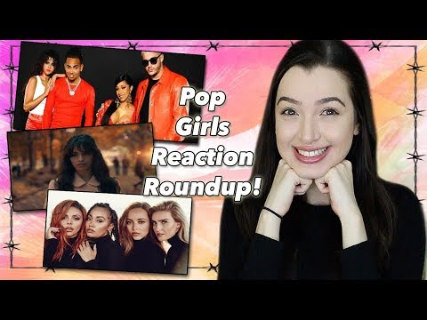 POP GIRLIES REACTION ROUNDUP (Taki-Taki, Consequences, Woman Like Me)