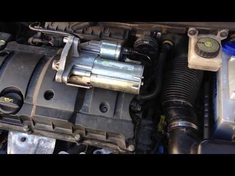 Peugeot 307 tu5jp4 - Installing starter - DIYChannel