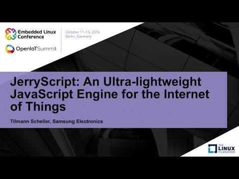 JerryScript: An Ultra-lightweight JavaScript Engine for the Internet of Things
