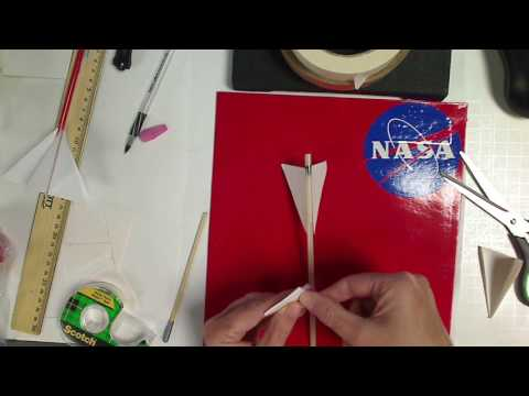 Pitsco Straw Rocket Build