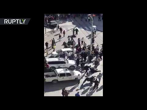 RAW: Aftermath of suicide bombing in Tunisian capital
