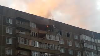 Взрыв газа в Моршанске. 3 городок улица Дзержинского  2017.06.13