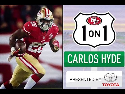Carlos Hyde Details Goals for 2016 Season