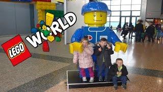 Vlog 270: LEGO WORLD UTRECHT!!!