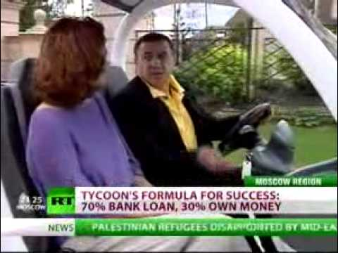 Арас Агаларов для Russia Today. 10.07.2010